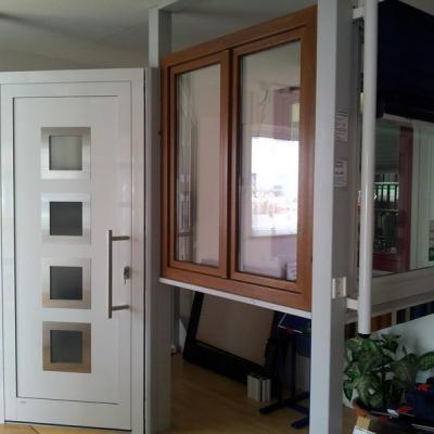 Aluminiumhaustüre PaXPlan, Kunststofffenster PaXplus und PaXabsolut