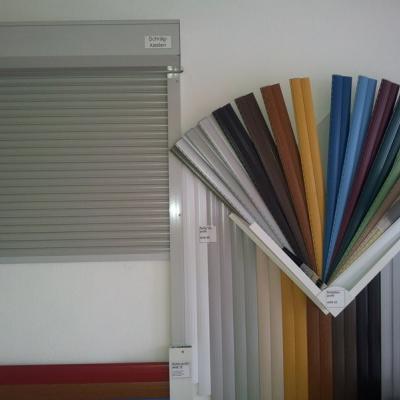 Vorbaurollladen, Muster von Rollladenlamellen